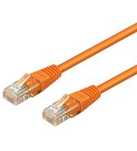 U/UTP PatchCord Cat6. CCA. Orange. 0.5m
