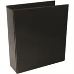 White Box WB PRES 4D RINGBINDER BLACK 65MM