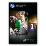 HP Q8692A photo paper Black, Blue, White Gloss