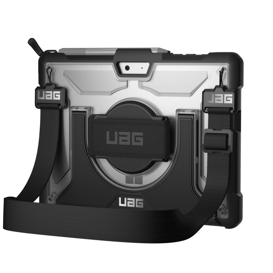 "Urban Armor Gear Plasma 25,4 cm (10"") Funda Negro, Gris"