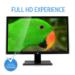 """V7 L27000WHS 27"""" Full HD LED Monitor 16:9 - Includes UK Plug"""