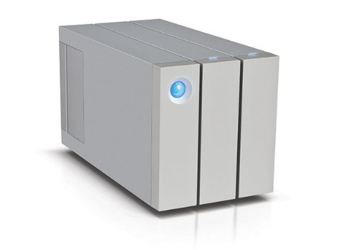 LaCie 2big Thunderbolt 2 Hard drive array - 2-bay - 2 x 6 TB