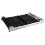 StarTech.com 2U Vented Sliding Rack Shelf w/ Cable Management Arm & Adjustable Mounting Depth - 125lbs / 56.7kg