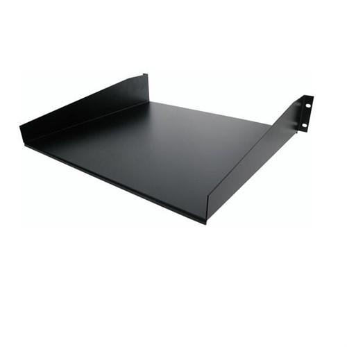 StarTech.com Black Standard Universal Server Rack Cabinet Shelf