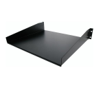 StarTech.com CABSHELF Shelf Black Rack accessory