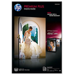 HP Premium Plus Glossy Photo Paper-20 sht/A3/297 x 420 mm