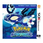 Nintendo Pokémon Alpha Sapphire Basic Nintendo 3DS English video game