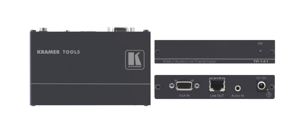Kramer Electronics TP-141 AV transmitter Black AV extender