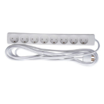 Microconnect GRU00850WDK power extension 5 m 8 AC outlet(s) Indoor White