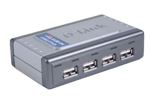 D-Link Hi-Speed USB 2.0 4-Port Hub interface hub
