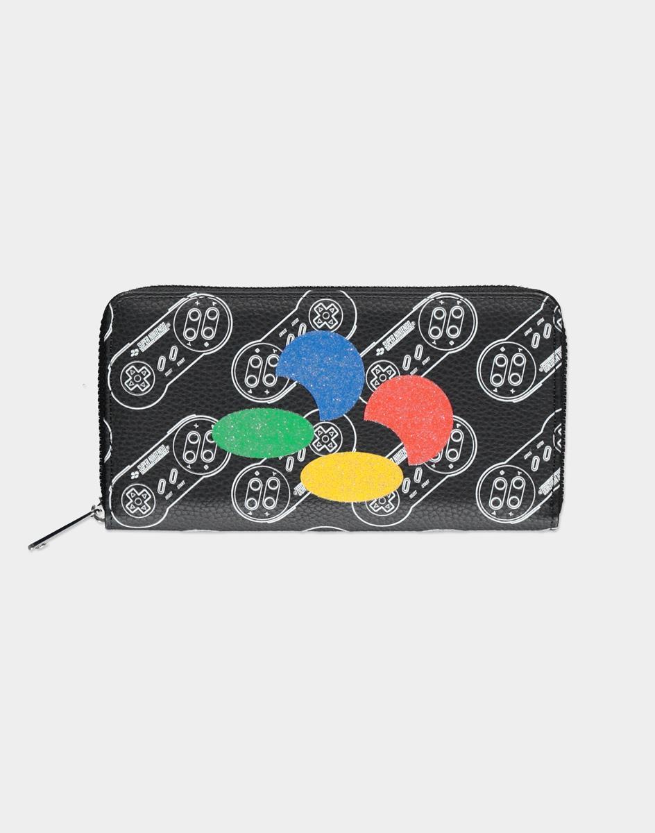 Nintendo SNES AOP Zip Around wallet Unisex Multicolor