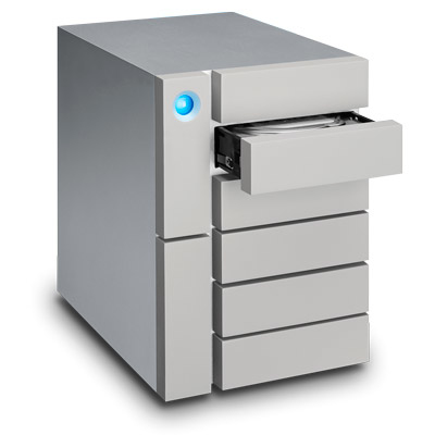 LaCie 24TB 6big Thunderbolt 3 disk array Desktop Silver