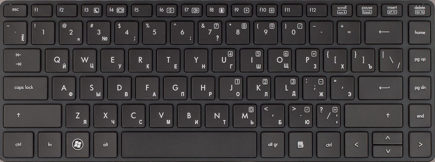 HP Inc. Keyboard (ENGLISH)