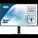 """AOC Pro-line Q3277PQU computer monitor 81.3 cm (32"""") 2560 x 1440 pixels Quad HD LED Flat Black"""