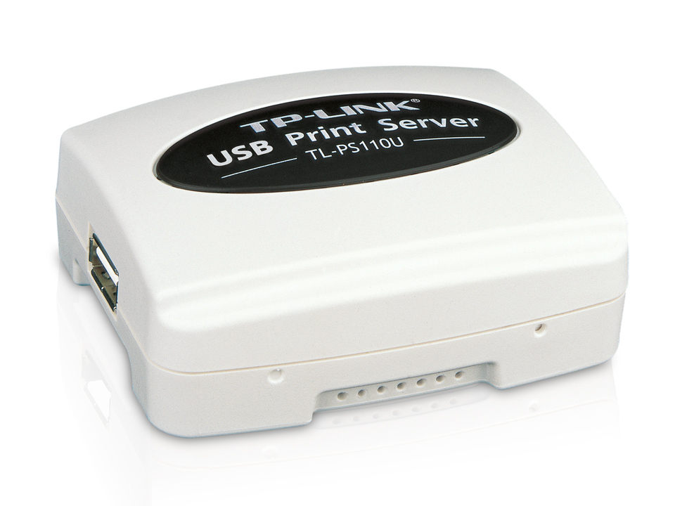 TP-LINK Single USB2.0 Port Fast Ethernet print server Ethernet LAN