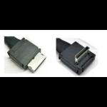 Intel AXXCBL530CVCR cable gender changer OCuLink SFF-8611 Schwarz