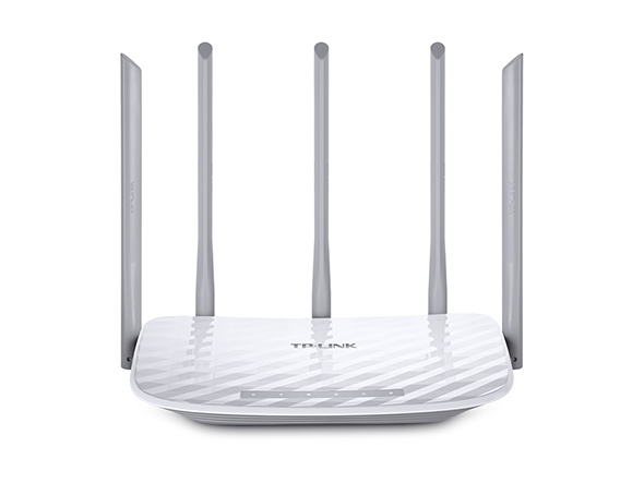 TP-LINK Archer C60 router inalámbrico Doble banda (2,4 GHz / 5 GHz) Ethernet rápido Blanco