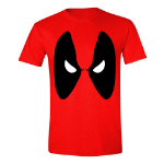 Marvel Men's Deadpool Angry Eyes T-Shirt, Extra Extra Large, Red (TS026POOL-XXL)