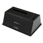 StarTech.com USB 3.0 SATA III Hard Drive Docking Station SSD / HDD with UASP SDOCKU33BV