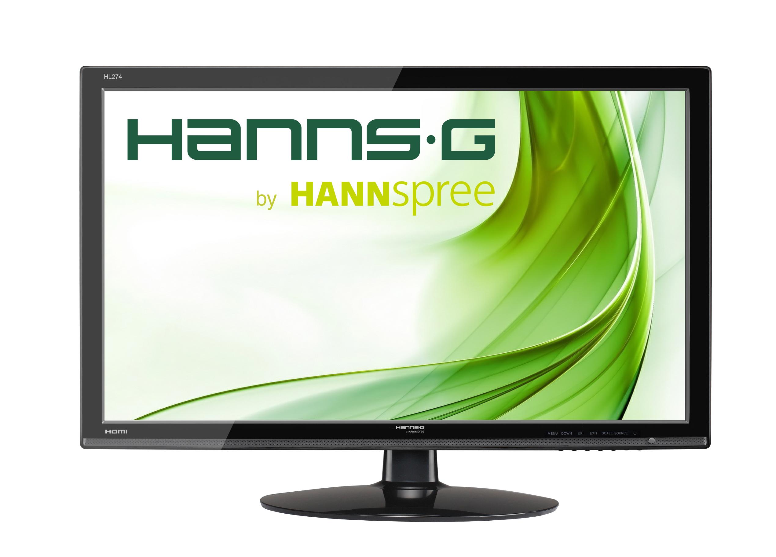 "Hannspree Hanns.G HL274HPB 27"" Black Full HD LED display"