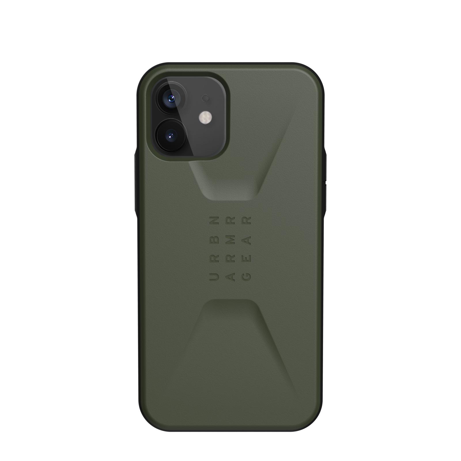 "Urban Armor Gear Civilian funda para teléfono móvil 15,5 cm (6.1"") Oliva"