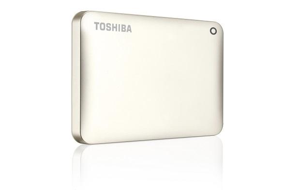 Toshiba Canvio Connect II 2TB 2000GB Gold external hard drive