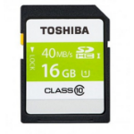 Toshiba SDHC 16GB 16GB SDHC Class 10 memory card