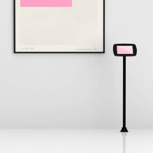 """Bouncepad Floorstanding Slim tablet security enclosure 24.6 cm (9.7"""") Black"""
