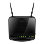 D-Link DWR-953 wireless router Gigabit Ethernet Dual-band (2.4 GHz / 5 GHz) 3G 4G Black