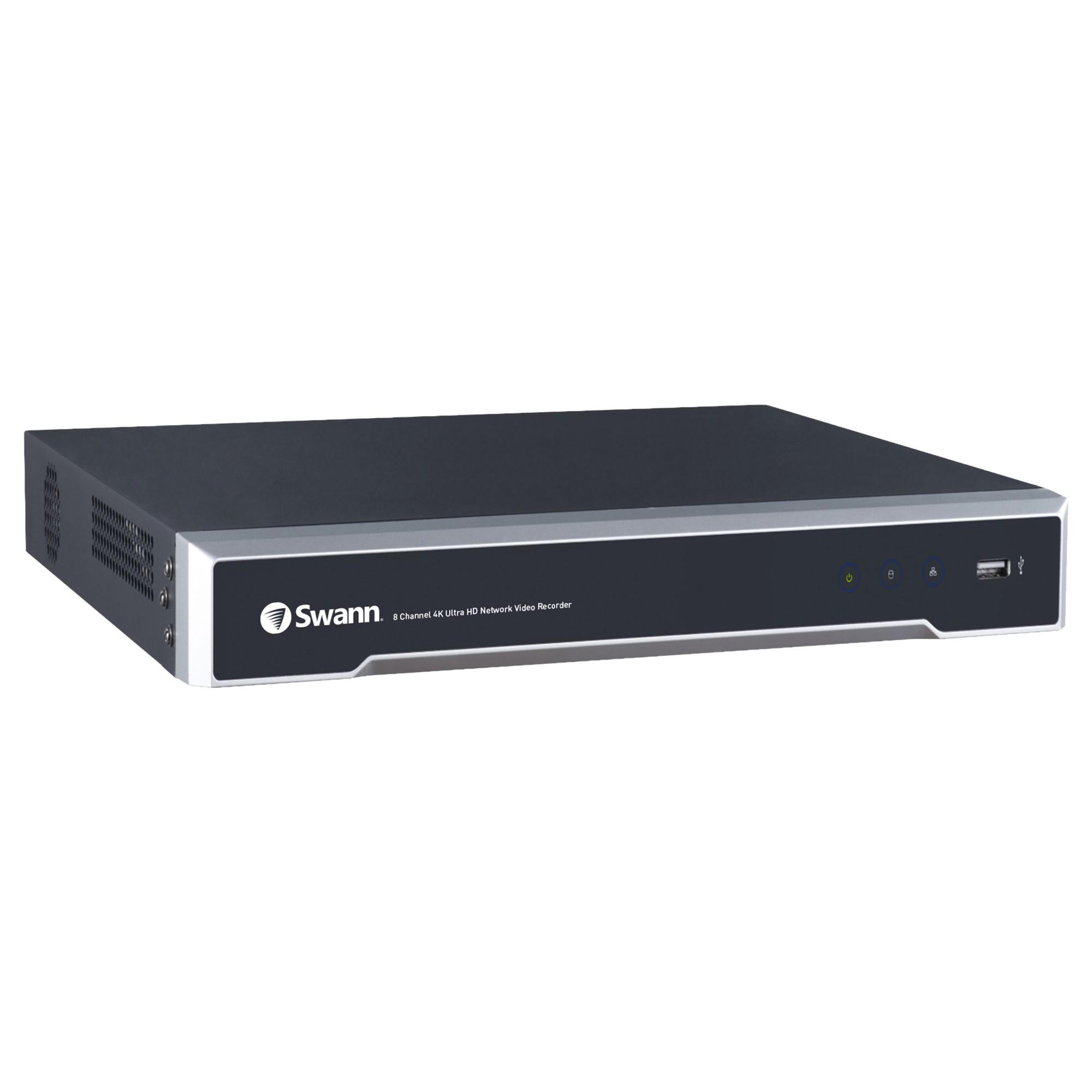 Swann NVR-8000 Black network video recorder