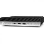 HP EliteDesk 800 G5 9th gen Intel® Core™ i5 i5-9500T 8 GB DDR4-SDRAM 1000 GB HDD mini PC Black, Silver Windows 10 Pro