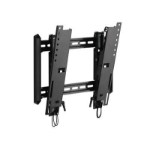 OmniMount LPHDM-T Black flat panel wall mount