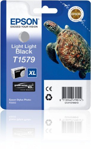 Epson C13T15794010 (T1579) Ink cartridge bright bright black, 26ml
