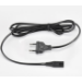 Toshiba Power Cord - 2-Pin (figure of 8), 2m - black, single packed - UK version