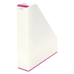 Leitz 53621023 Polystyrene Pink, White file storage box