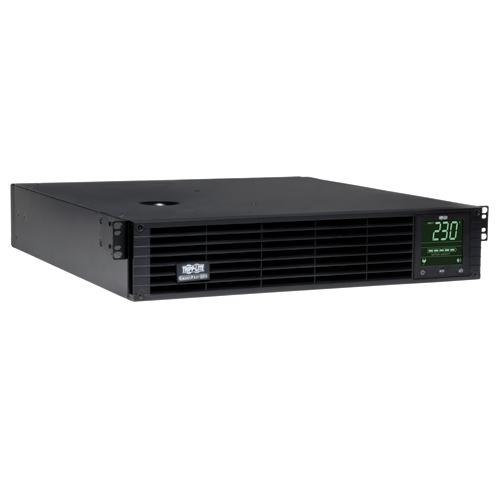 Tripp Lite SmartPro 230V 2.2kVA 1.92kW Line-Interactive Sine Wave UPS, Extended Run, SNMP, Webcard, 2U Rack/Tower, LCD, USB, DB9 Serial