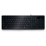 Genius Slimstar 130 keyboard USB QWERTY US International Black