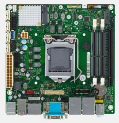 Fujitsu D3433-S Intel Q170 LGA 1151 (Socket H4) Mini ITX motherboard