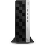 HP ProDesk 600 G3 6th gen Intel® Core™ i3 i3-6100 4 GB DDR4-SDRAM 500 GB HDD Black,Silver SFF PC