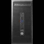 HP EliteDesk 705 G3 7th Generation AMD PRO A10-Series PRO A10-9700 8 GB DDR4-SDRAM 128 GB SSD Micro Tower Black PC Windows 10 Pro