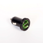 Jivo Technology Bullet -USB In-Car Charger - Black
