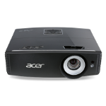 Acer Large Venue P6600 Desktop projector 5000ANSI lumens DLP WUXGA (1920x1200) 3D Black data projector