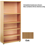 JEMINI FF JEMINI OPEN STORAGE SHELF OAK