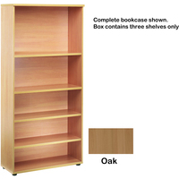 FF Jemini Open Storage Shelf Oak