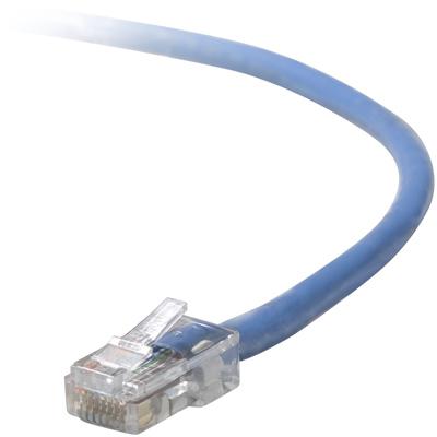 Belkin UTP CAT5e 0.5m networking cable U/UTP (UTP) Blue