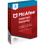 McAfee Internet Security 3 license(s) 1 year(s)