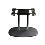 "B-Tech Flat Screen Floor Stand 65"" Portable flat panel floor stand Black"