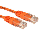 Cables Direct URT-601.5/O 1.5m Cat5e U/UTP (UTP) Orange networking cable