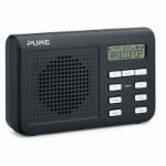 Pure One Mi Series 2 Portable Digital Black radio