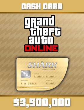 Nexway Grand Theft Auto Online: Whale Shark Card